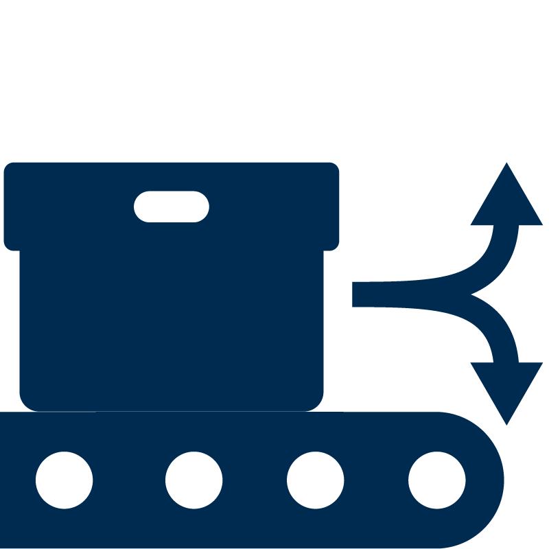 Lenkung des Produkts mit dem OPC Router