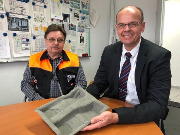 Michael Kalbe und Christian Gaßmann von Auria Solutions GmbH