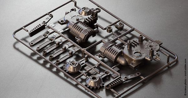Kunststoff-Produkt einer Spritzgießmaschine
