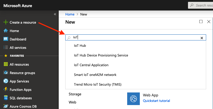 Connecting the Azure IoT Hub via MQTT - Manual