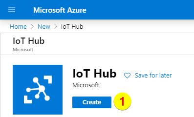 Create IoT Hub