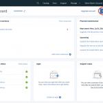 IBM IoT Console Dashboard