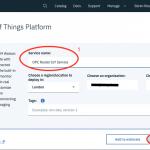 IBM IoT Watson Ressource Name