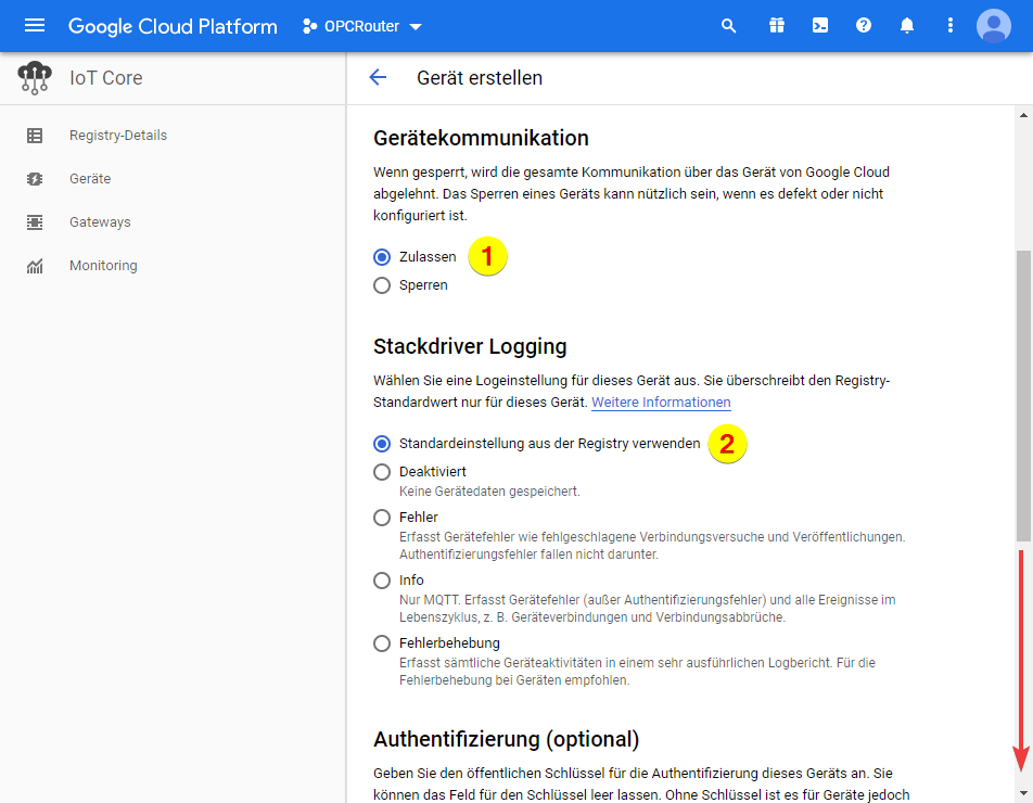 Google Cloud Platform – Stackdriver Logging