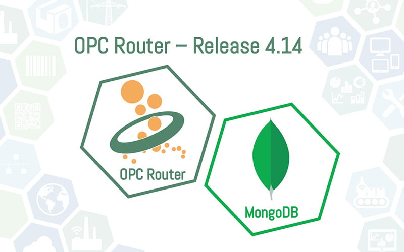 OPC Router Release 4.14 mit MongoDB Anbindung