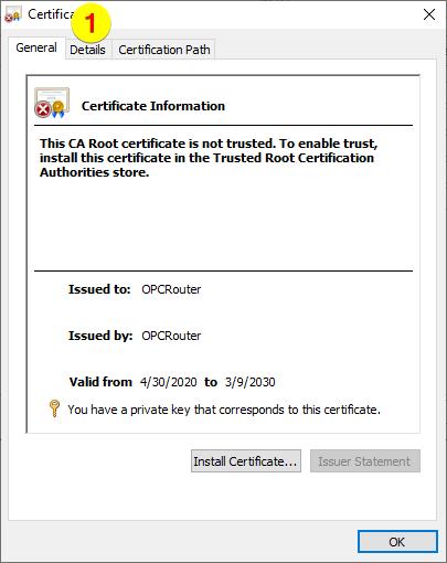 OPC Router – Details