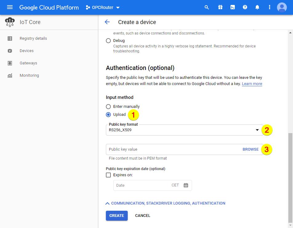 Google Cloud Platform – Authentication
