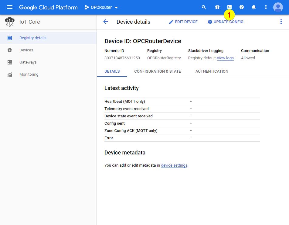 Google Cloud Platform – Open Shell