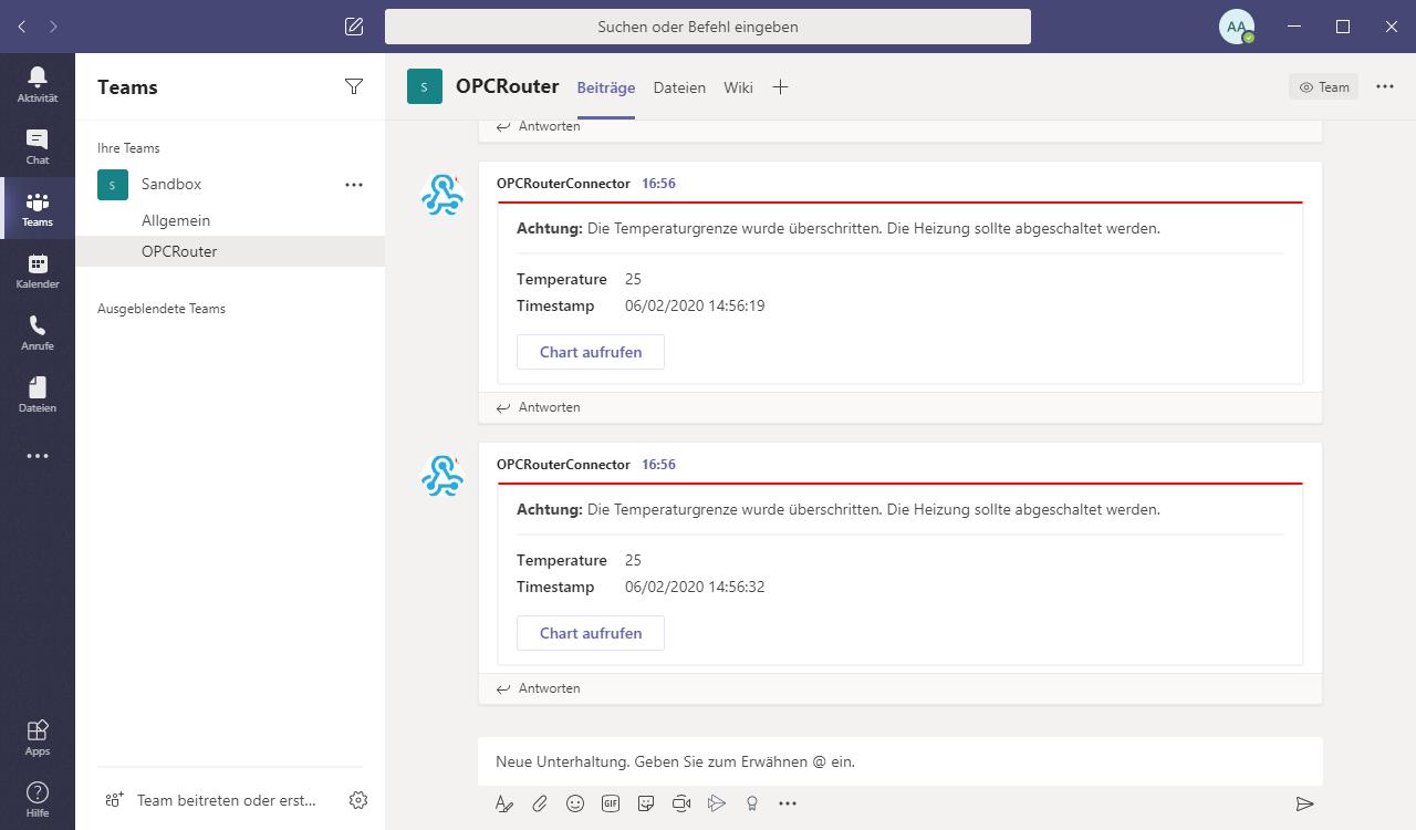 Screenshoot OPC Router