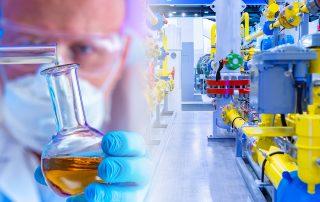 Chemieunternehmen automatisiert Abfüllprozess