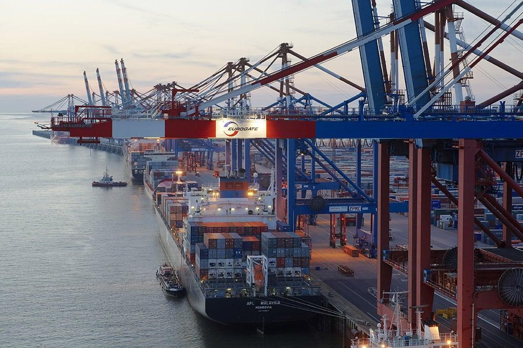 Eurogate Containerterminal Bremerhaven, Foto © Sabine Vielmo, Hamburg
