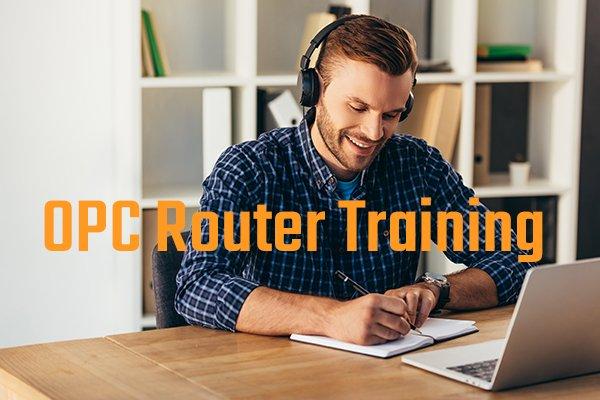 OPC Router Training - Praxisnahe Webinare zur Industrie 4.0 Software