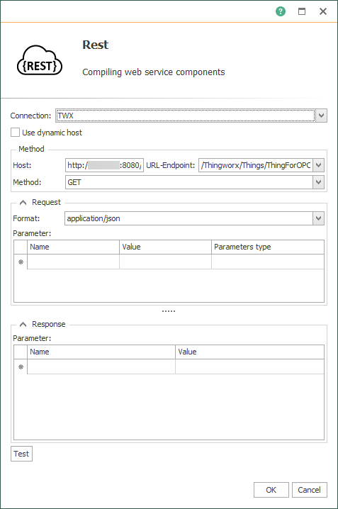 OPC Router Rest-Transfer object