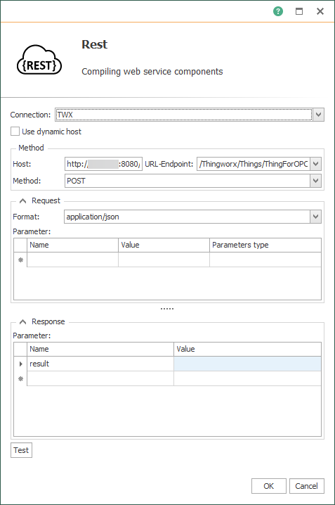 OPC Router Rest-Transferobject