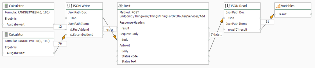 OPC Router connection at runtime